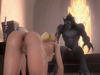World of Warcraft Vehemently Feral big tits big dick