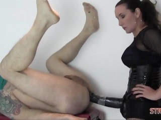 Jane brings in the big guns! fetish amateur