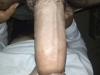Diwali ka gift mila indian hairy