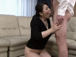 Non-native Japanese cooky in Remarkable Blowjob, HD JAV instalment hd blowjob/fera