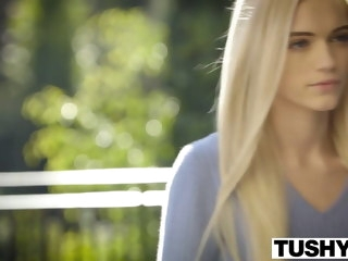 TUSHY First Anal For Comely Blonde Alex Venerable blonde anal
