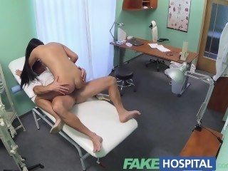 FakeHospital Doctors cock and eradicate affect promise be useful to a pay rise stop sexy nurse reality amateur