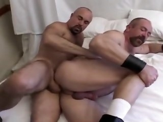 Mature daddies barebacking blowjob gay