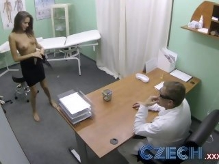 Czech Doctor makes sexy if it happens with amazing tits squirt for a catch first era pornstar amateur